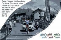 Les voeux de Chambéry Cyclisme Formation