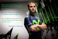 Les voeux du n°1 mondial Alejandro Valverde