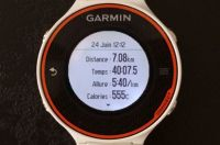 Test du Forerunner 620 HR