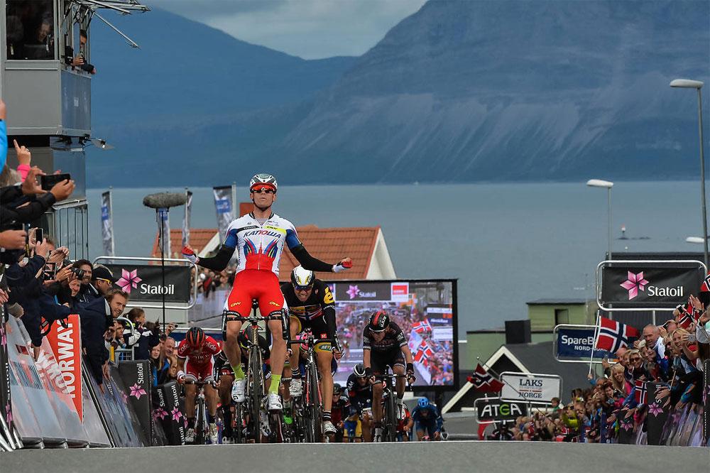Alexander Kristoff retrouve la victoire