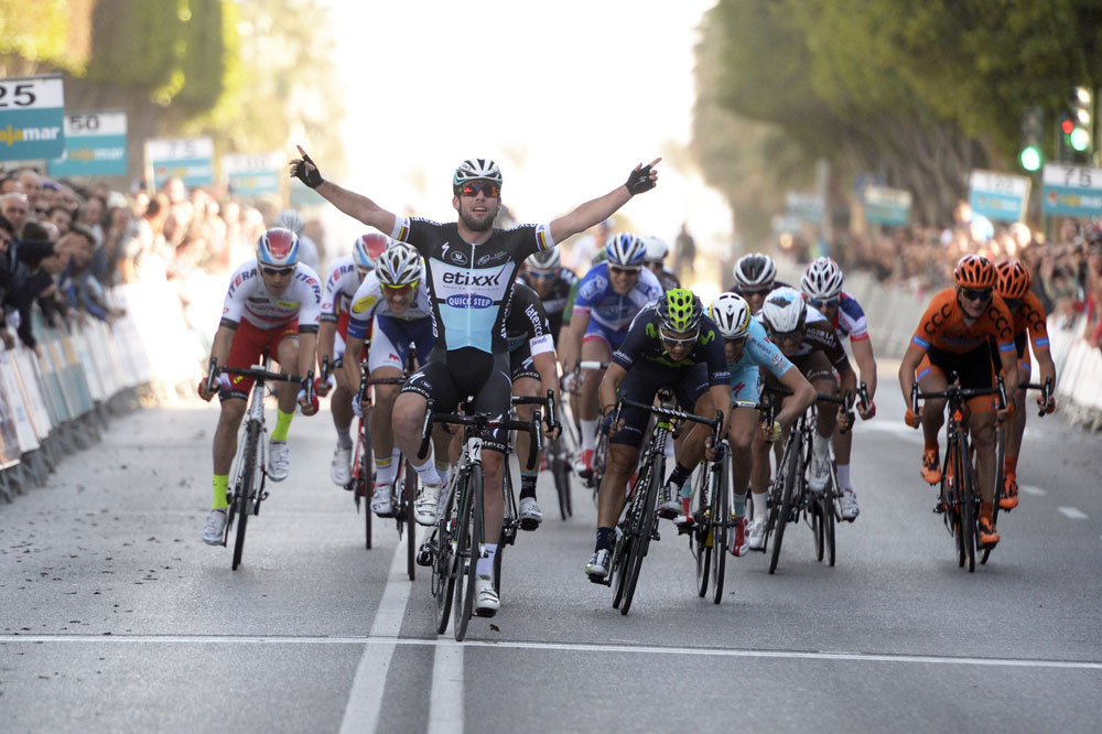 Mark Cavendish gagne à Almeria