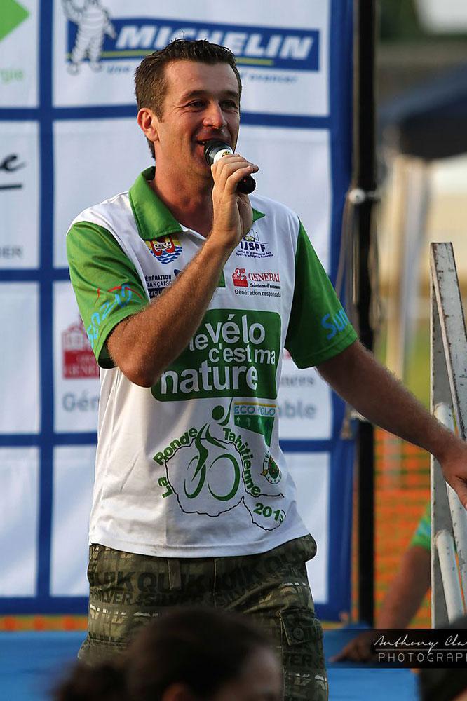 Benoît Rivals, organisateur de la Ronde Tahitienne