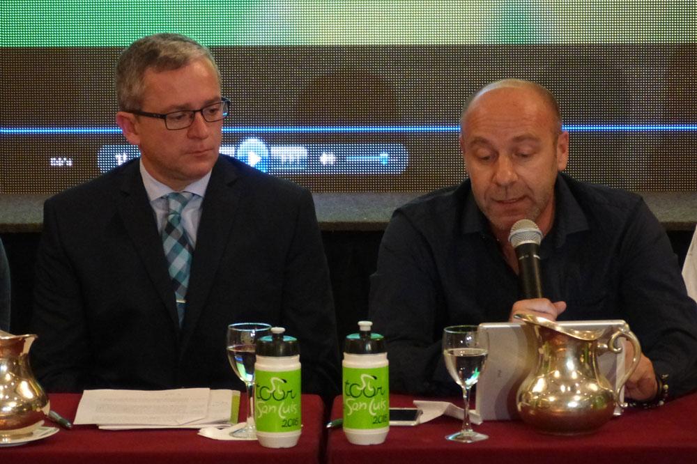Carlos Rosso et Giovanni Lombardi