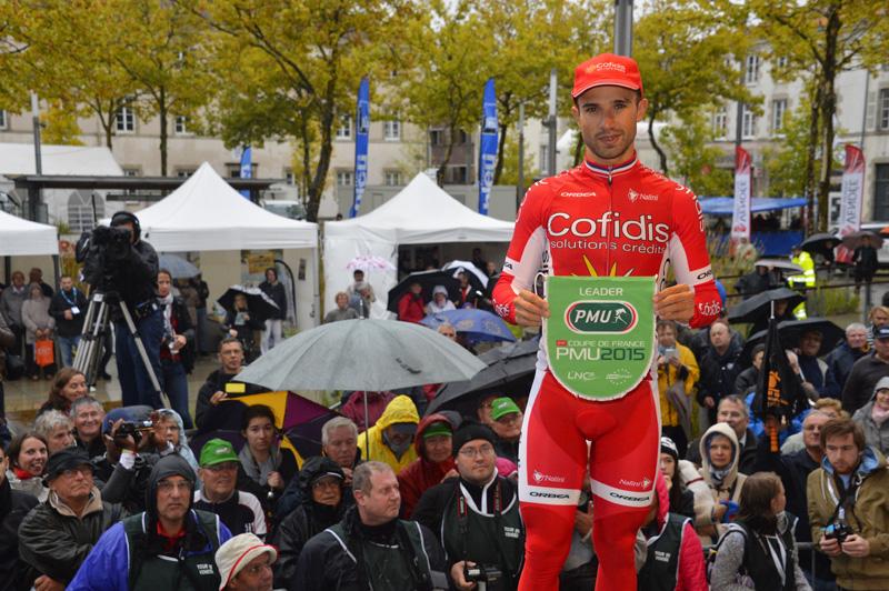 Nacer Bouhanni, vainqueur de la Coupe de France 2015