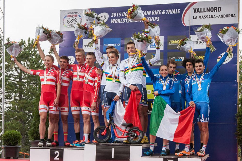 La France lauréate du relais à Vallnord