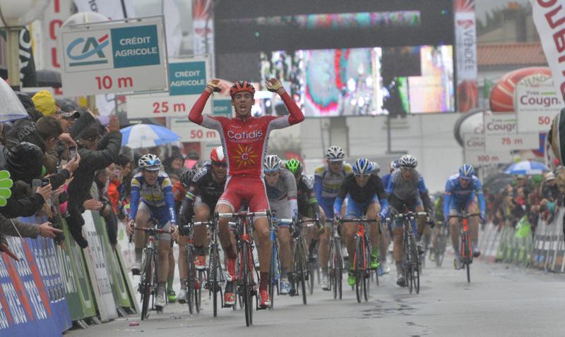 Christophe Laporte signe sa première victoire chez les pros sur le Tour de Vendée