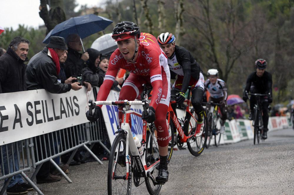 Christophe Laporte sprinte pour les places d'honneur