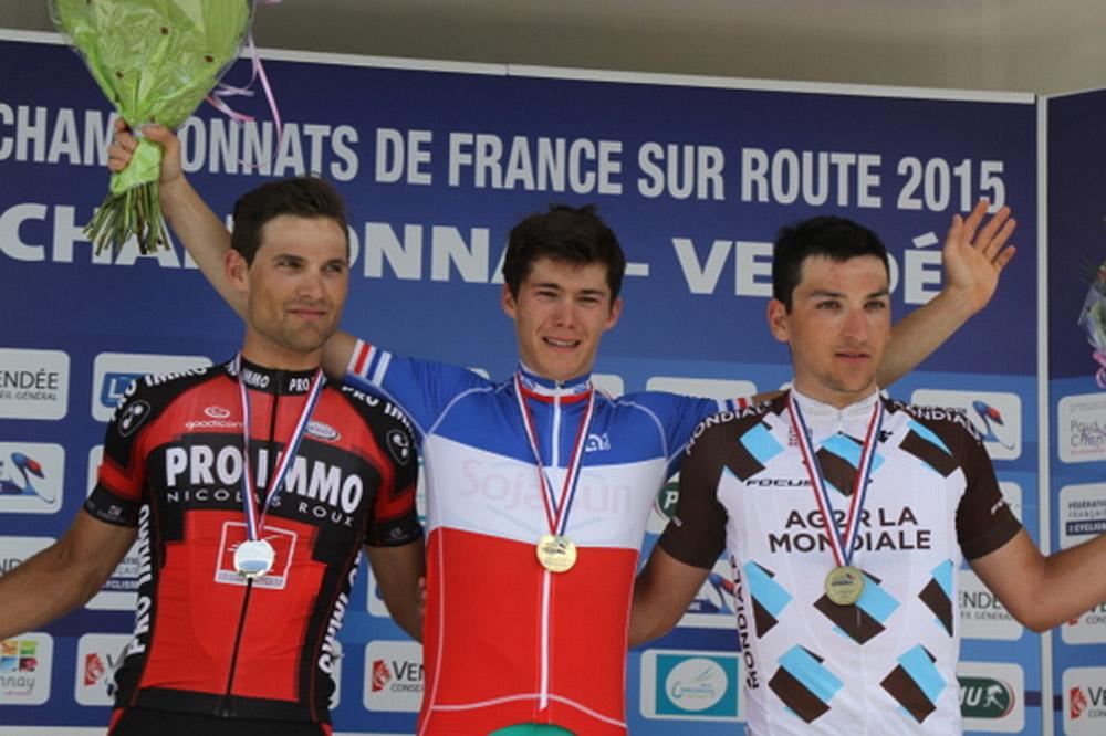 Clément Mary devance Florent Pereira et Nans Peters