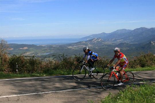 Montée chronométrée sur la Cyclo'Corse