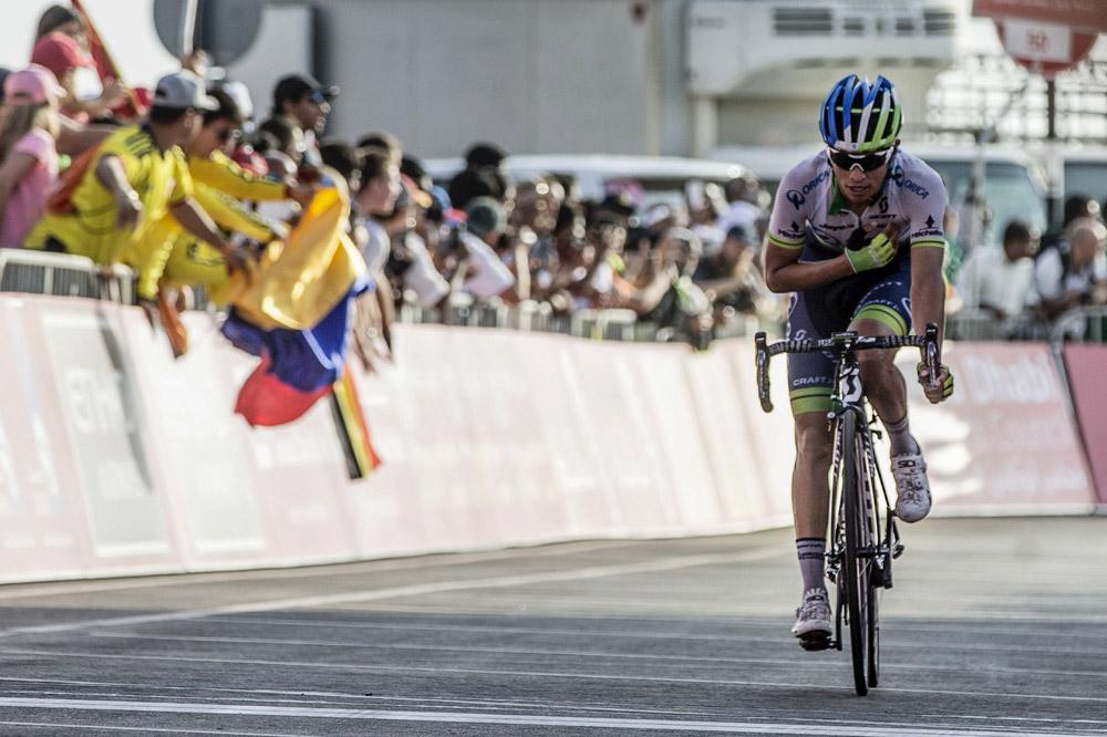 Une victoire particulière pour Esteban Chaves