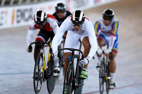 Victoire de Fabian Puerta en keirin
