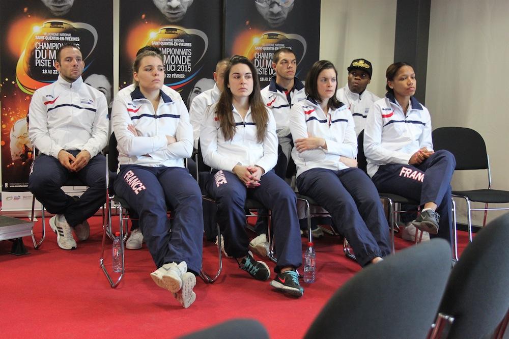 L'équipe de France pour les Championnats du Monde