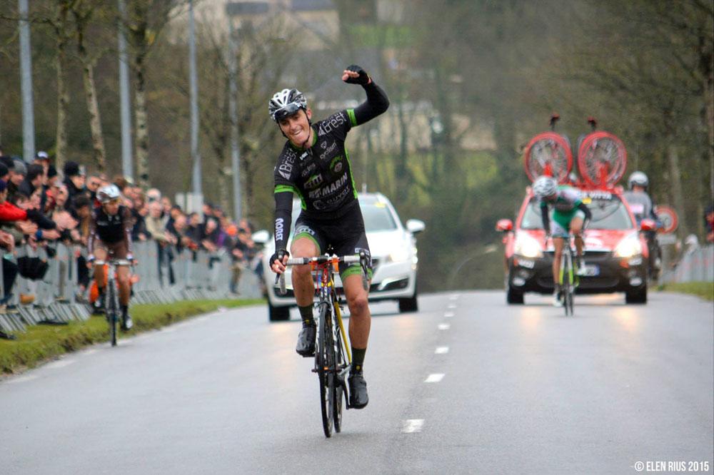 Franck Bonnamour conquiert le GP Gilbert Bousquet devant Fabrice Seigneur