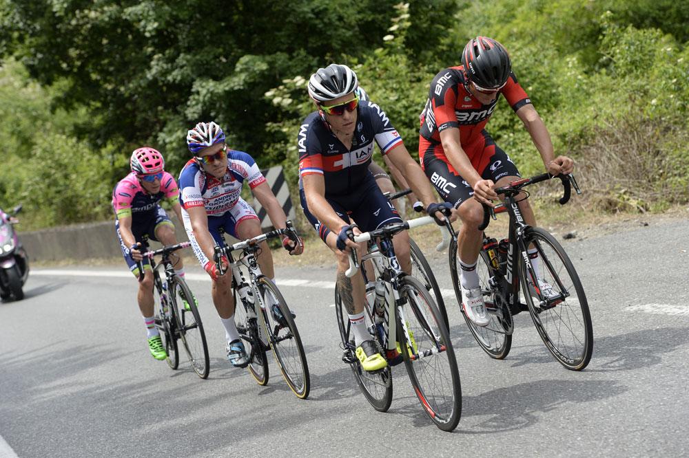 Sylvain Chavanel échappé sur les routes du Tour d'Italie