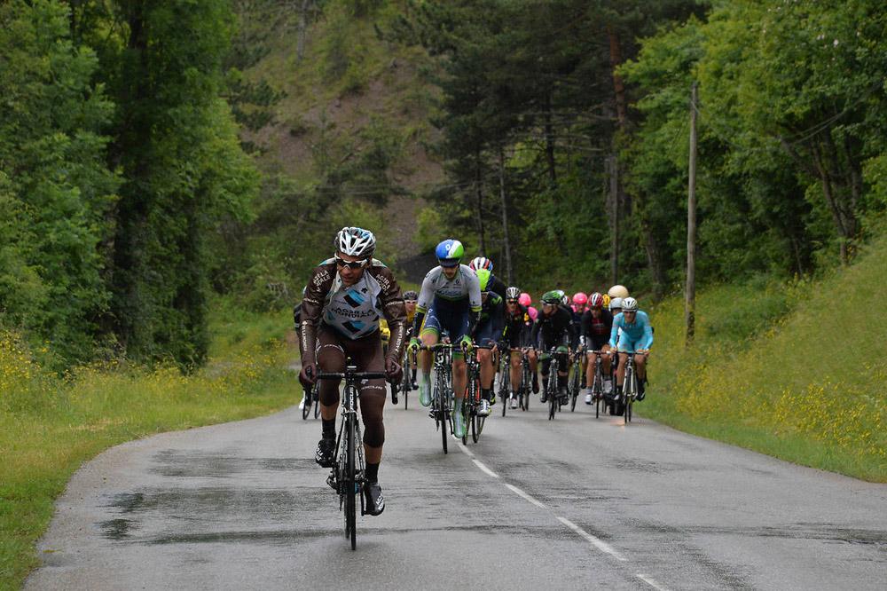 Jean-Christophe Péraud sur les routes du Critérium du Dauphiné