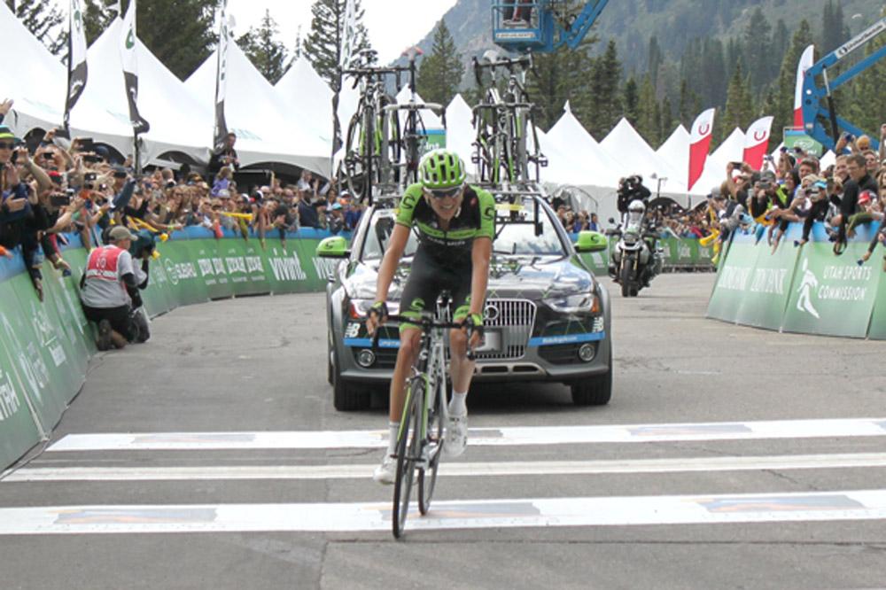 Joe Dombrowski sur le chemin du retour au Tour de l'Utah