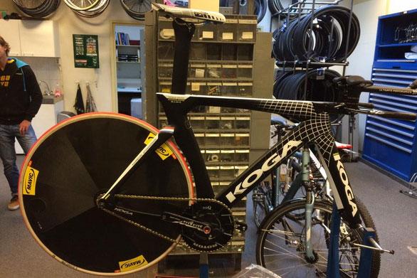 Le vélo Koga de Thomas Dekker