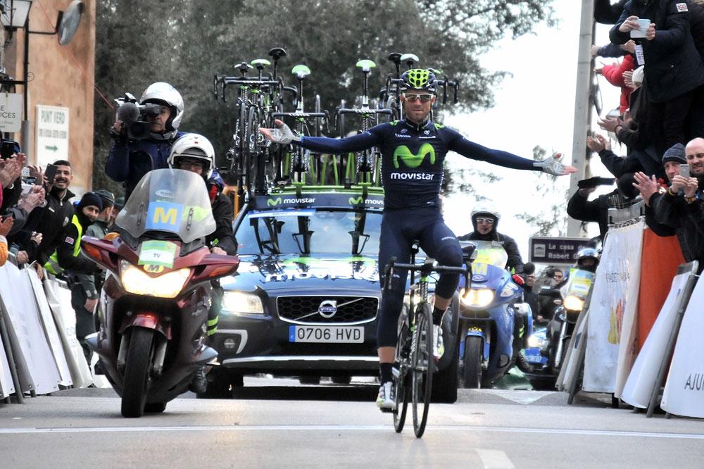 Alejandro Valverde le magnifique à Majorque