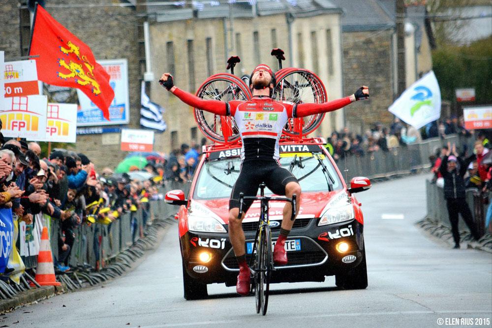Marc Fournier gagne à Guégon
