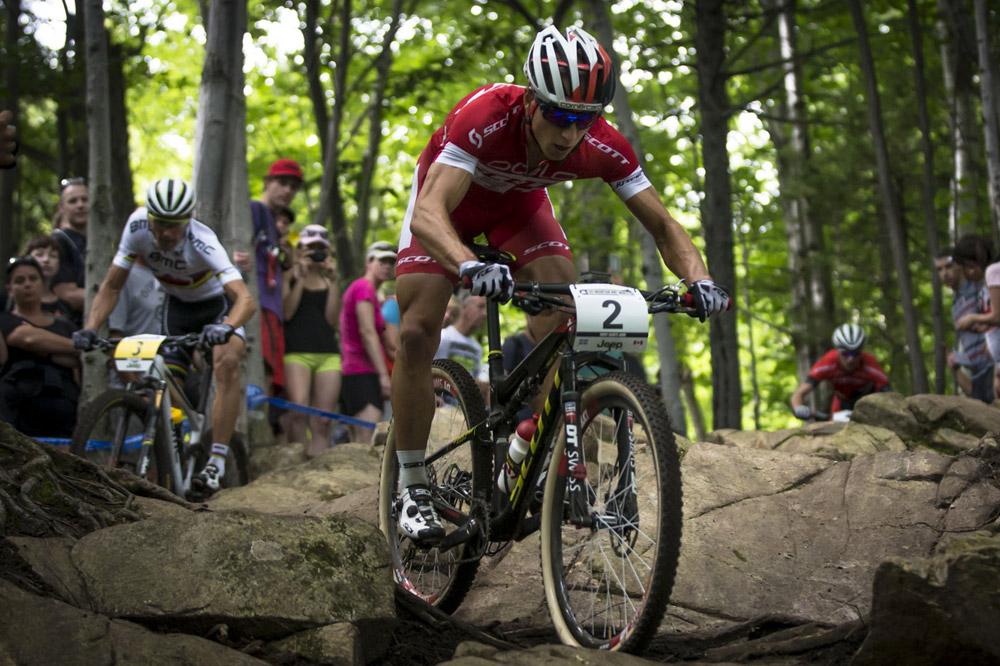 Un nouveau duel entre Nino Schurter et Julien Absalon