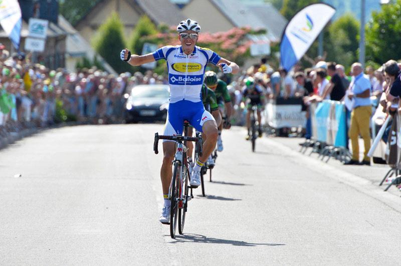 Oliver Naesen vainqueur de la Polynormande