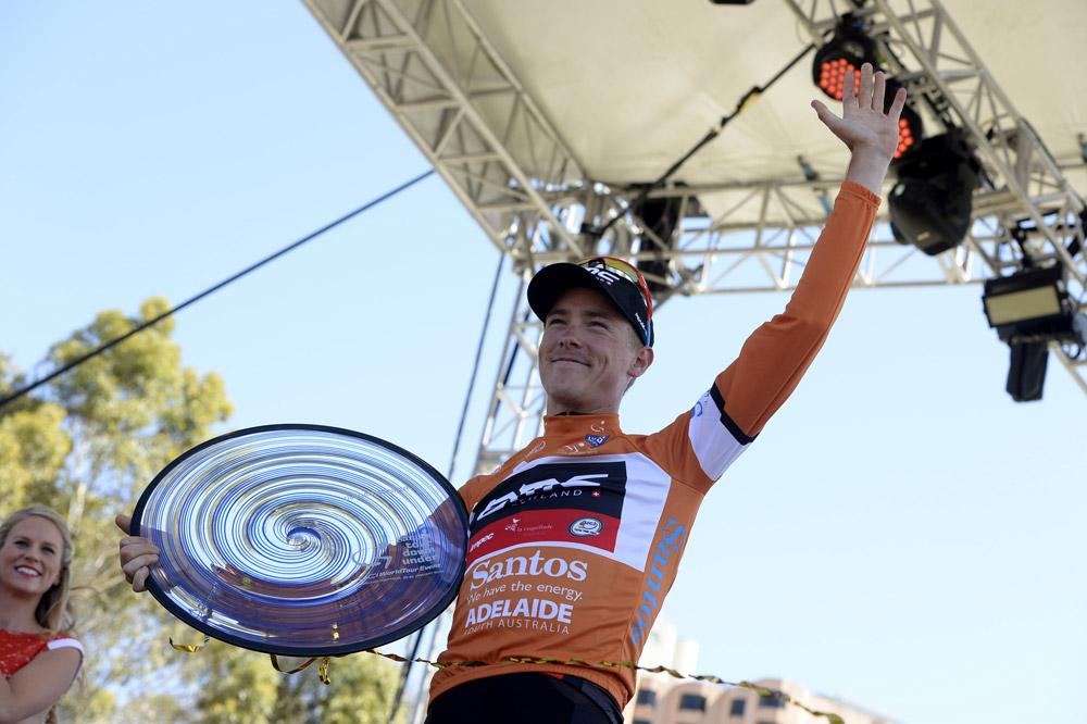 Rohan Dennis remporte le Tour Down Under