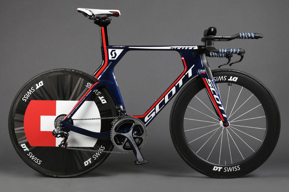 Le Scott Plasma Team Issue de IAM Cycling