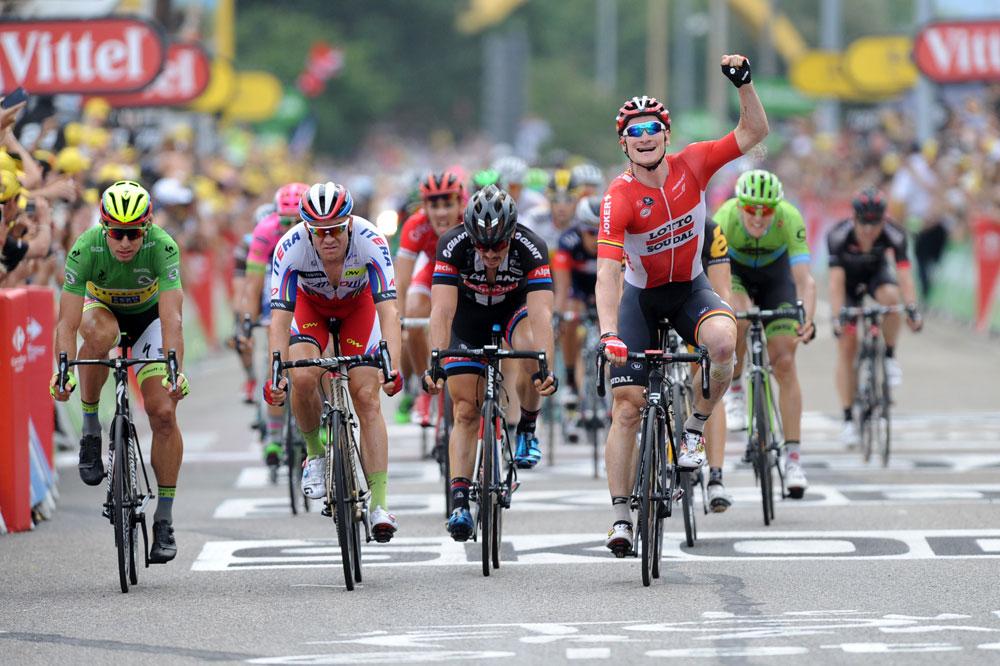 A Valence, André Greipel bat Peter Sagan, Alexander Kristoff et John Degenkolb