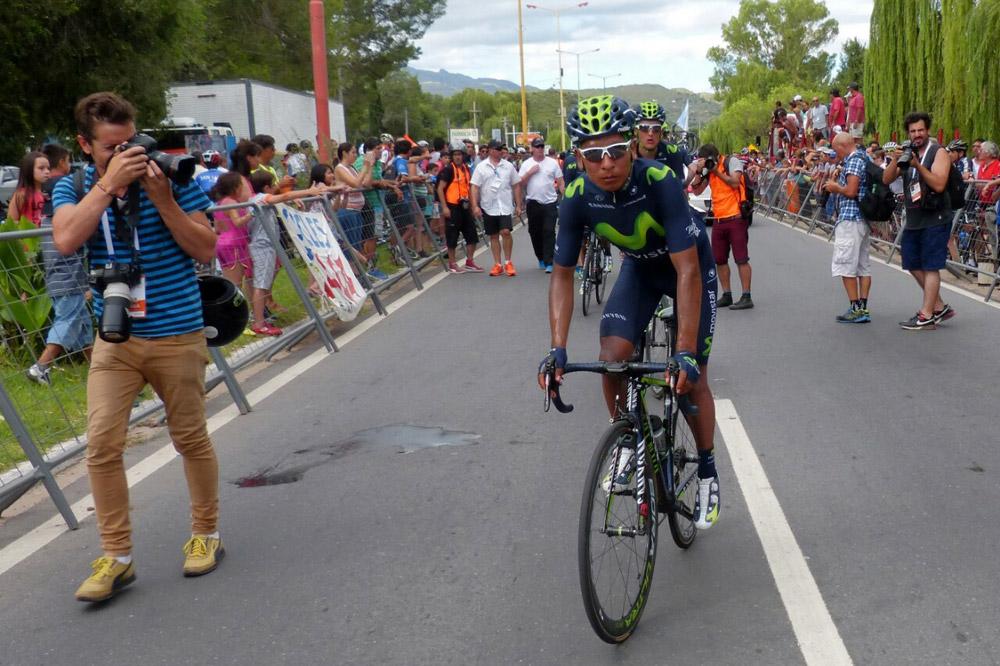 Nairo Quintana copieusement photographié