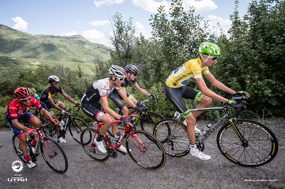 Joe Dombrowski gagne le Tour de l'Utah