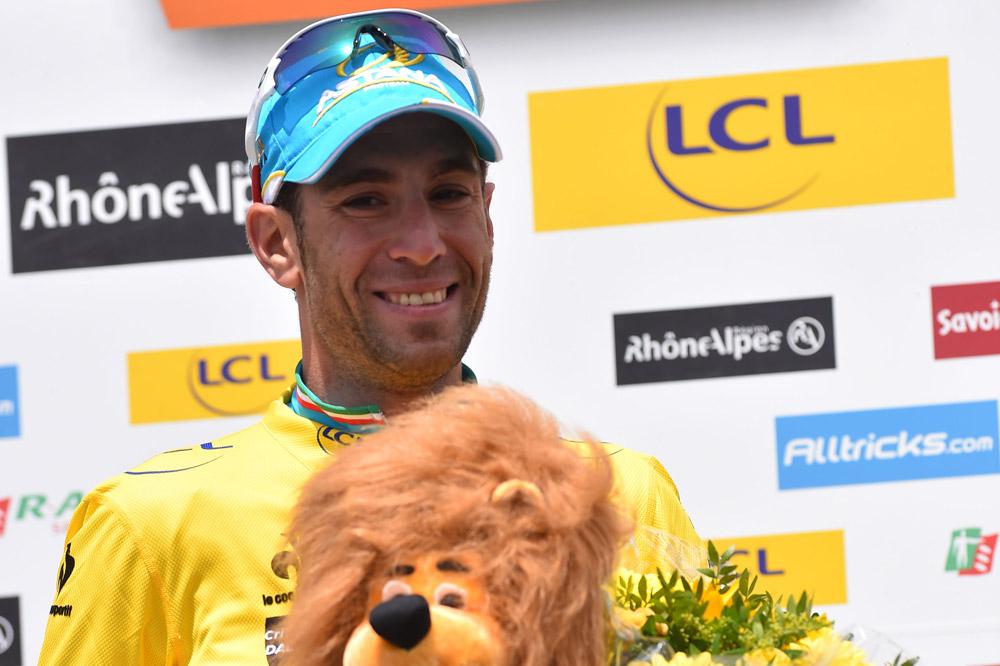 Vincenzo Nibali, Maillot Jaune du Critérium du Dauphiné