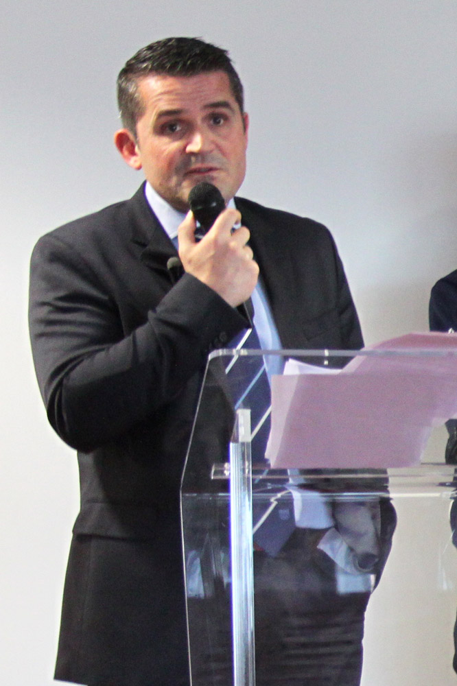 Le DTN Vincent Jacquet