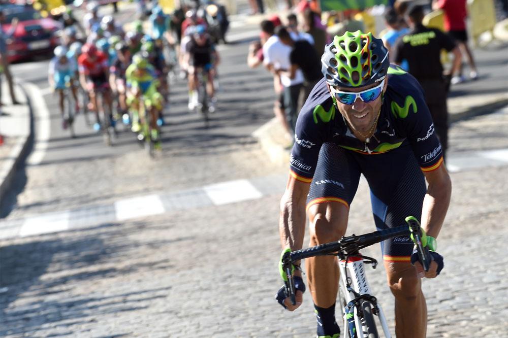 Alejandro Valverde offensif