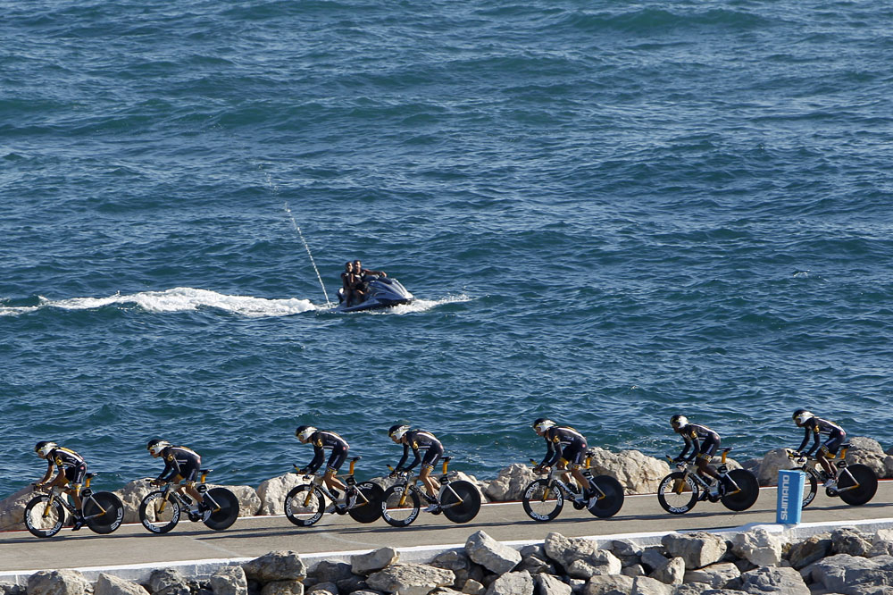 Départ en mer pour la Vuelta