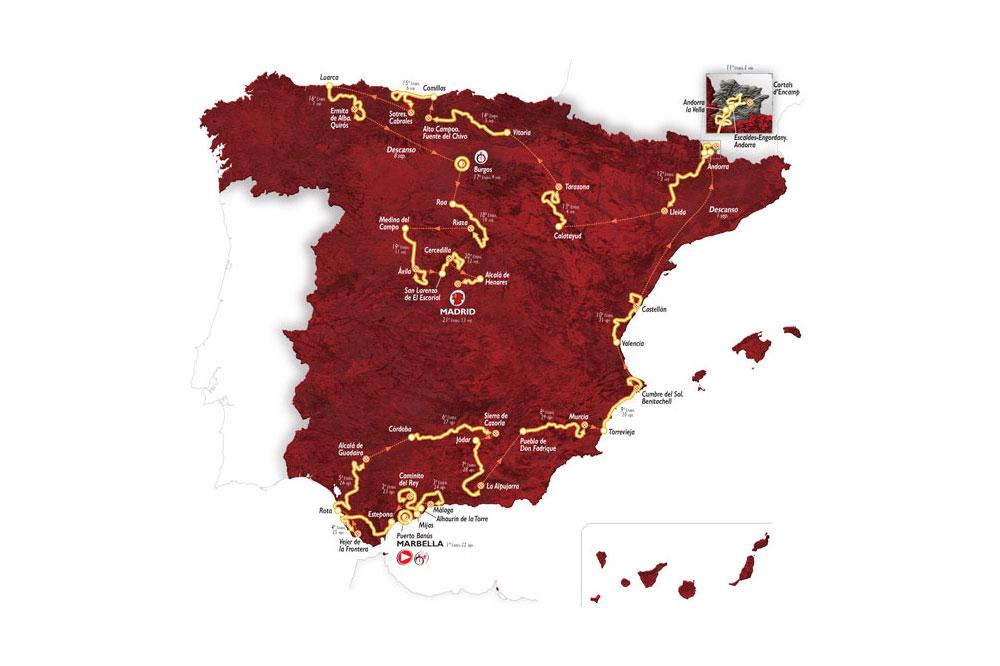 Vuelta 2015 — Un Tour d'Espagne grandement inédit, actualité vélo pros