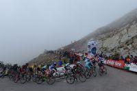 L'alto del Campoo plongé dans le brouillard
