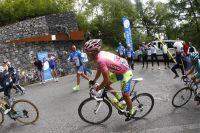 Alberto Contador impressionne dans la montée du Mortirolo
