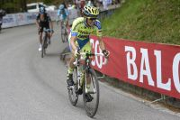 Alberto Contador attaque, Richie Porte réplique