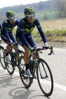 Alejandro Valverde attend son heure sur la Flèche Wallonne