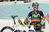 Alejandro Valverde détendu