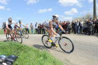 Alexis Gougeard brillant dans l'échappée de Paris-Roubaix
