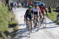 Alejandro Valverde fait le forcing aux Strade Bianche