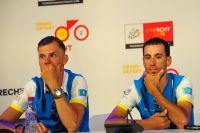 Lars Boom et Vincenzo Nibali