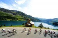 Le Tour de l'Avenir dans les Alpes