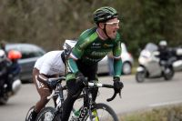 Thomas Voeckler à l'attaque face au vent glacial