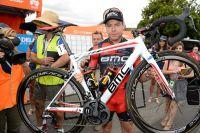 BMC a proposé un vélo spécial à Cadel Evans pour sa dernière course