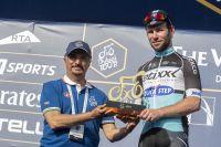 Un nouveau trophée vient garnir l'armoire de Mark Cavendish
