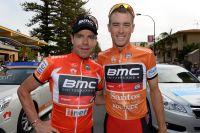 Deux maillots distinctifs pour Cadel Evans et Rohan Dennis