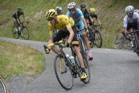 Chris Froome en descente