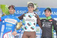 Le podium de la Classic Loire-Atlantique